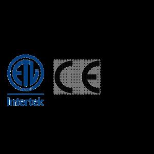 CE, UL, and ETL Certification